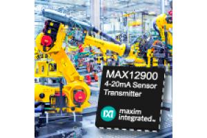 MAX12900 — формирователь сигнала токовой петли 4-20 мА