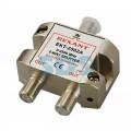Делитель, ТВх2 под F разъем 5-2500 МГц, СПУТНИК