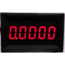 Амперметр цифровой, постоянного тока,  повышенной точности, 0.0000-3.0000А, цвет красный