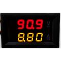 Амперметр+вольтметр постоянного тока, 0-100В, 0-10А