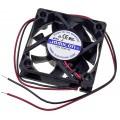 Вентилятор, 60х60х25мм, 12В, 0.20А, FD6025S12M, DC (скольжения)