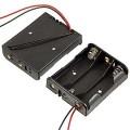 KLS5-806-B, батарейный отсек для 3 батарей АА, провод 15см