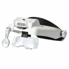 MG82000M, очки монтажные профессиональные, с подсветкой, шесть линз