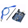 Ардуино WAVGAT UNO R3, ATmega328P/CH340G, с кабелем USB