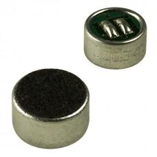 Микрофон EM9765 (P), D=9,7мм, H=6,5мм