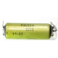РЭС55А (00.02), пылебрызгозащищенное герконовое двухпозиционное, одностабильное реле, (27 В)