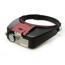 MG81007А, очки монтажные профессиональные, с подсветкой