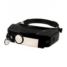 MG81007, очки монтажные профессиональные, с подсветкой