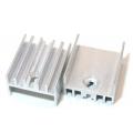 Радиатор BLA002-30, 30х15х10мм, с резьбой