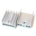 Радиатор BLA002-25, 25х15х10мм, с резьбой