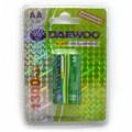 Аккумулятор, DAEWOO, R6, AA, (1300mAh), Ni-MN, BR-2/20