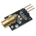 KY-008 650 нм, лазерный модуль для Ардуино, 5В, 5мВт