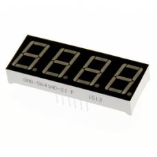 GNQ-5641AS-21, семисегментный индикатор, 4 разряда, красный, ОК