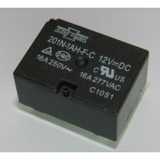 Реле электромагнитное 12В 16А 201N-1AH-F-C 12VDC