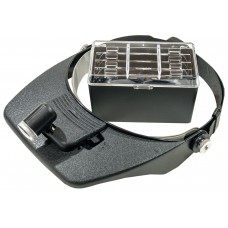 MG81001A, очки монтажные профессиональные, с подсветкой, 4 линзы