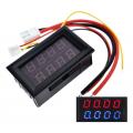 Амперметр+вольтметр постоянного тока, 0-200В, 0-10А