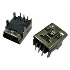 Гнездо mini USB 2 на плату