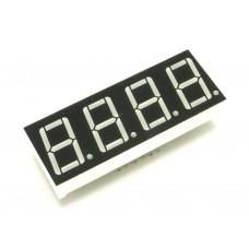 E40561-I-0-0-W, 50*19мм, семисегментный индикатор, красный, 4 разряда, общий анод