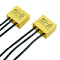 0.22 мкф 250VAC, конденсатор пленочный помехоподавляющий, ( X1)  0.22мкф +  (Y2) 2х0.022мкф