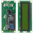 QC1602 A, ЖК знакосинтезирующий индикатор с модулем I2C, (дисплей), двухстрочный, зеленый