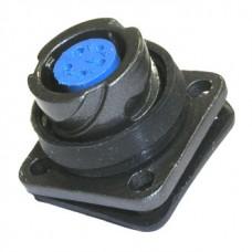 Разъем FQ14-5ZK, (быстроразъемный), блочная розетка