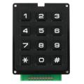 Клавиатура кнопочная, 3х4