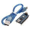 Ардуино Nano V3.0  CH340G, ATmega328P, c USB-кабелем