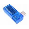 Портативный USB вольтметр-амперметр, 3.5 - 7 В, 0-3А