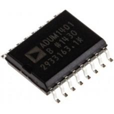ADUM1401BRWZ, четырехканальный цифровой изолятор, SO-16W