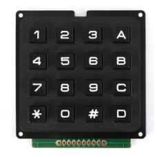 Клавиатура кнопочная, 4х4