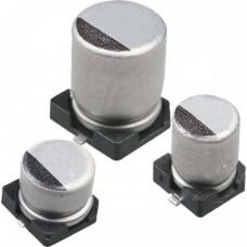 10 мкф 16В, конденсатор электролитический ЧИП, 4х5.4мм