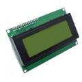 LCD2004 A, ЖК знакосинтезирующий индикатор 20х4, с модулем I2C, (дисплей), 4х-строчный,зеленый,синий