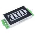 Индикатор заряда для четырех литиевых батареи