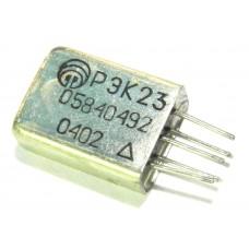 РЭК23 (04.02), реле герметичное, двухпозиционное, 27В 1 переключающий