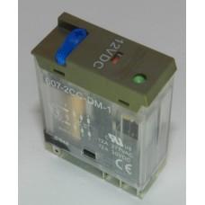 607-2CC-DM-1 12VDC, Реле электромагнитное