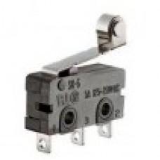 Микропереключатель, 3А 250В. с планкой и колесиком,  (SC-7301)