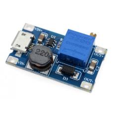 Модуль питания, повышающий, MT3608,  с Micro USB, 2А
