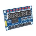 TM1638 модуль для AVR