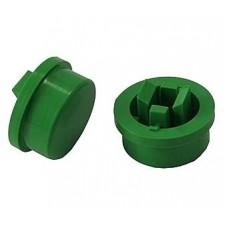 Колпачок на тактовую кнопку (12х12),  A24 зеленый
