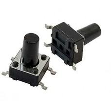 Тактовая кнопка 6х6х9.5, SMD, IT-1102WD