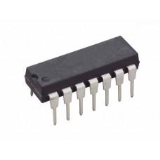 Микросхема IL324N, четыре независимых, операционных усилителя