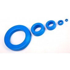 Кольцо ферритовое, R 12.5 x 7.50 x 5.00, T38