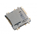 Держатель micro SD-карты, для Samsung Galaxy. в вырез платы