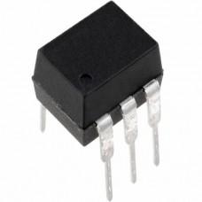 MOC3041, оптопара с симисторным выходом 1А 400В, (DIP-6)