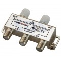 Делитель, ТВх4 под F разъем 5-1000 МГц