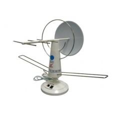 TD-009, антенна комнатная, всеволновая, с усилителем
