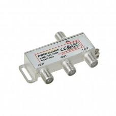 Делитель, ТВх3 под F разъем 5-2500 МГц, СПУТНИК