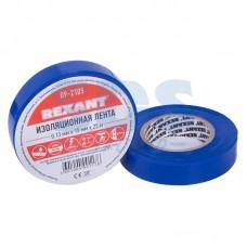 Изолента синяя REXANT, 0.13 мм Х 19 мм Х 25 м