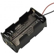 KLS5-810-B, батарейный отсек для 4 батарей АА, провод 15см