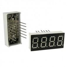KEM-3461AG, 30*14мм, семисегментный индикатор, зеленый, 4 разряда, общий катод